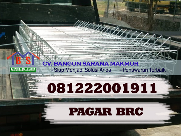 DAFTAR HARGA PAGAR BRC 190X240X8MM SURABAYA